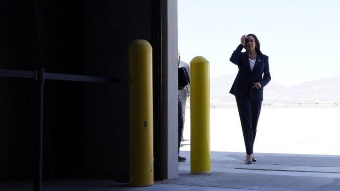 Kamala Harris visits US border amid migrant crisis