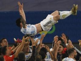 Lionel Messi wins first Copa America as Argentina beat Brazil