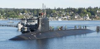 South China Sea US submarine collides with 'unknown object'