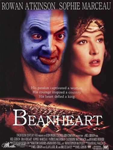 #15 Mr Bean as the rebel who sets out to battle his wife's killer.