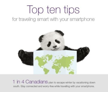Top 10 SmartPhone tips for travel