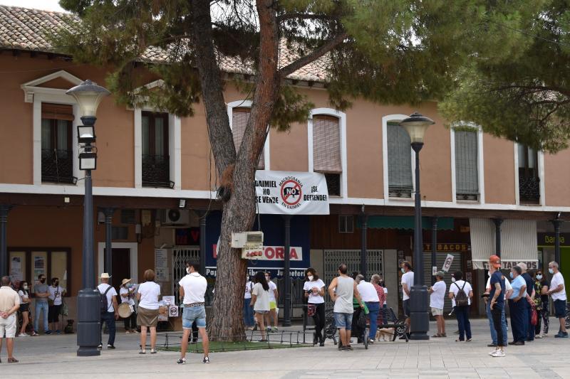 Manifestación 'STOP Macrogranjas Daimiel'