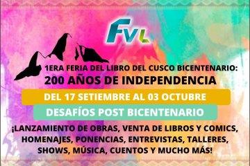 Primera Feria del libro del Cusco Bicentenario