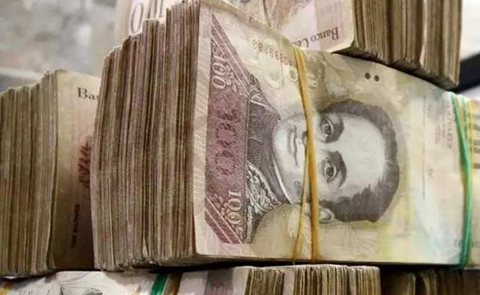 10 lakh currency notes in Venezuela