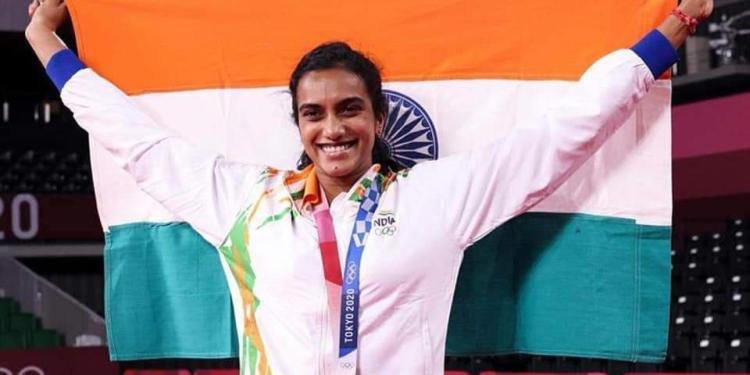 PV Sindhu returns to India