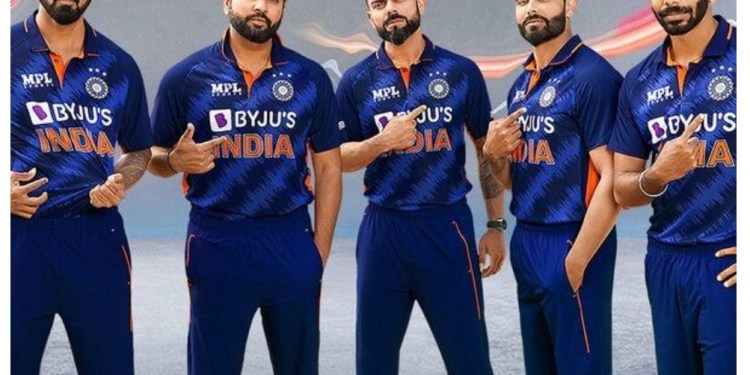 Team India's new jersey launch