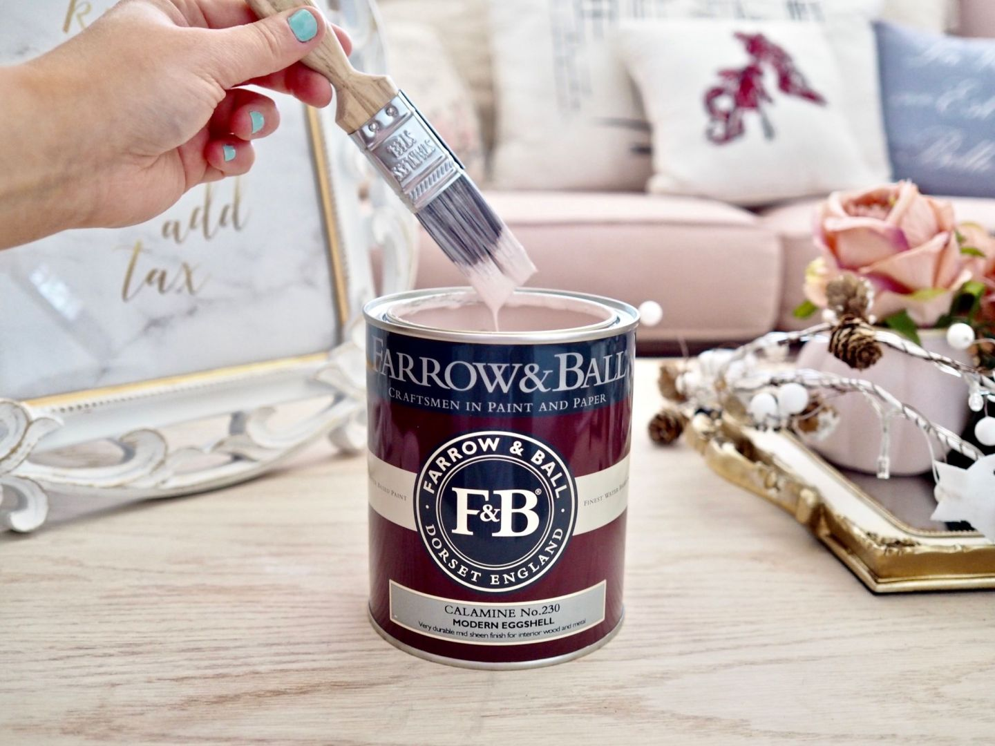 farrow and ball eggshell paint