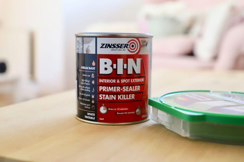 How To Strip Paint, Trunk Makeover Zinnser BIN