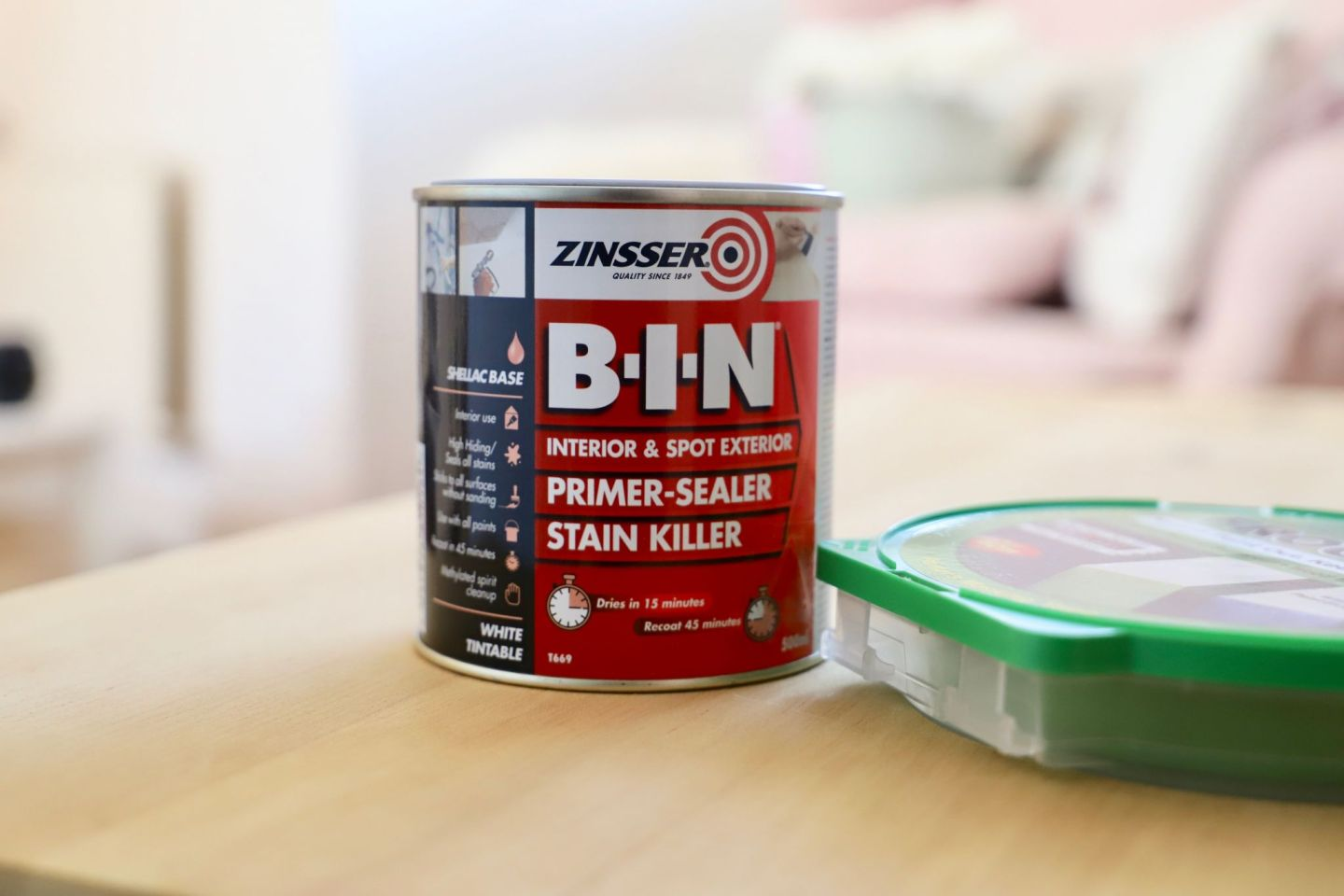 How To Strip Paint, Trunk Makeover​ Zinnser BIN