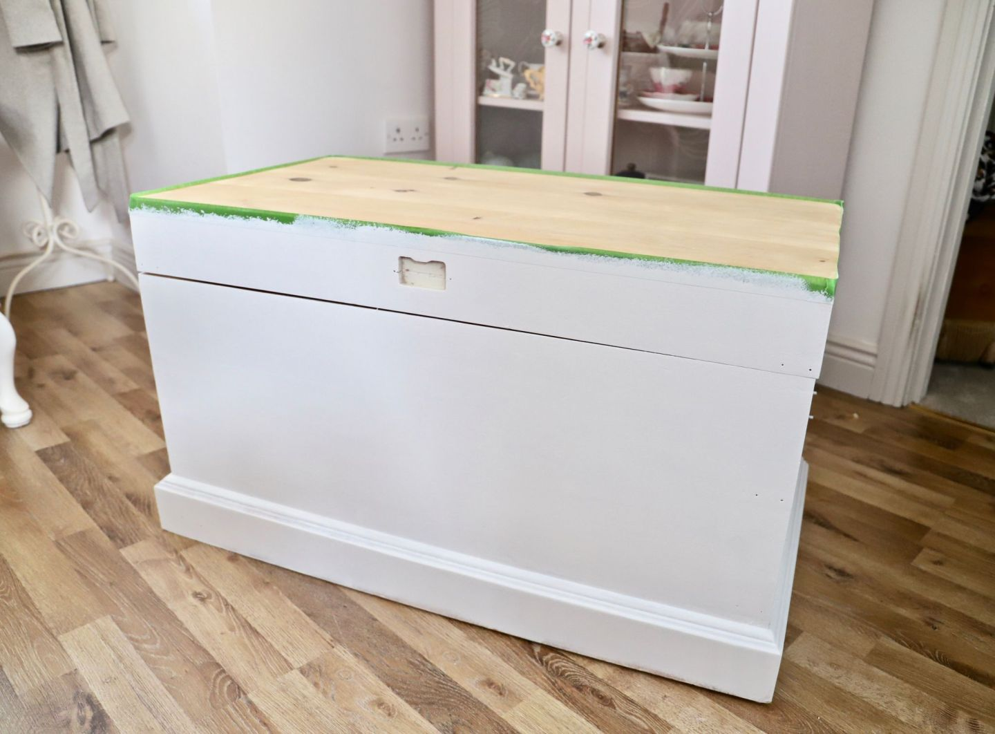 How To Strip Paint, Trunk Makeover​