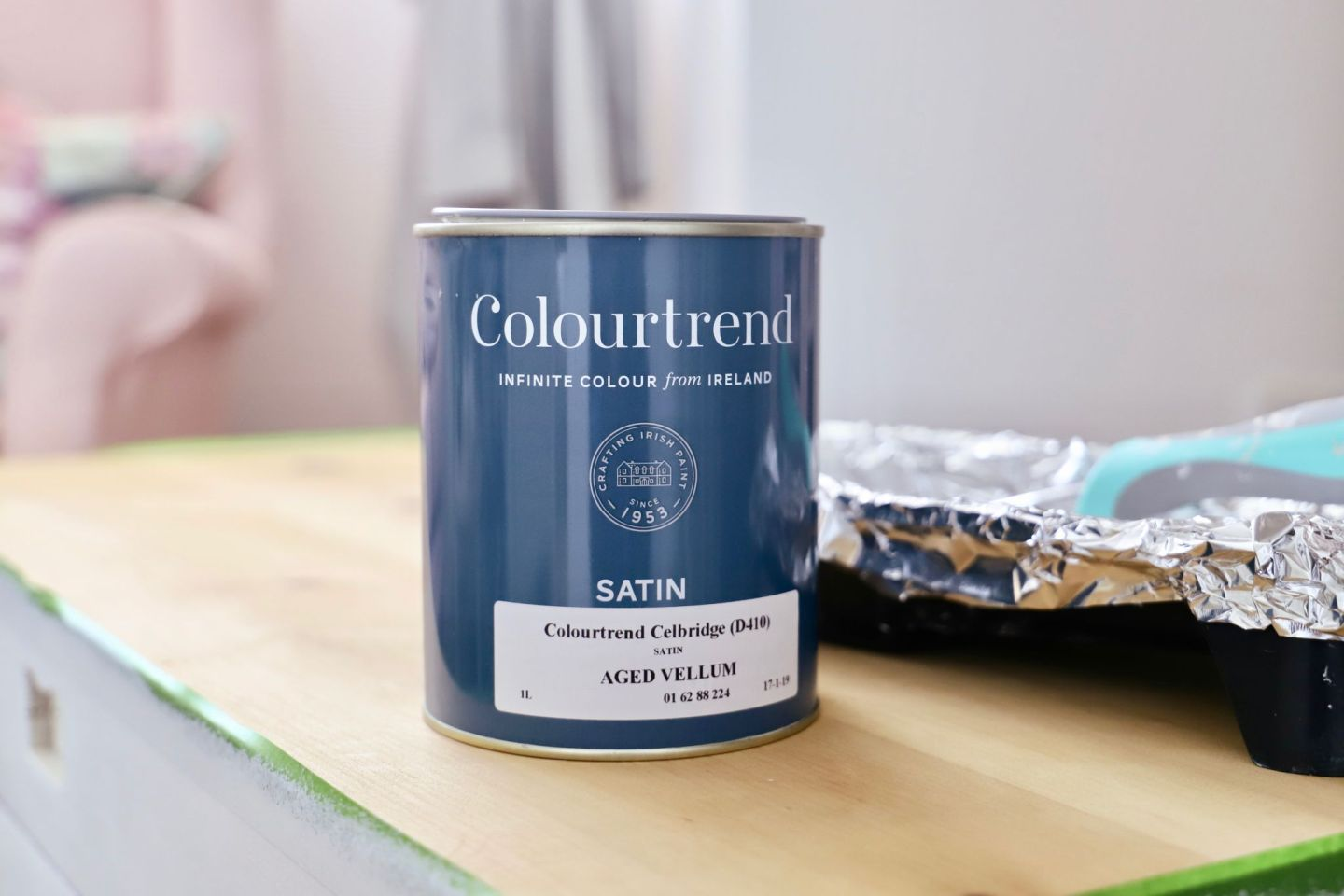 How To Strip Paint, Trunk Makeover​ Colortrend Aged Velum