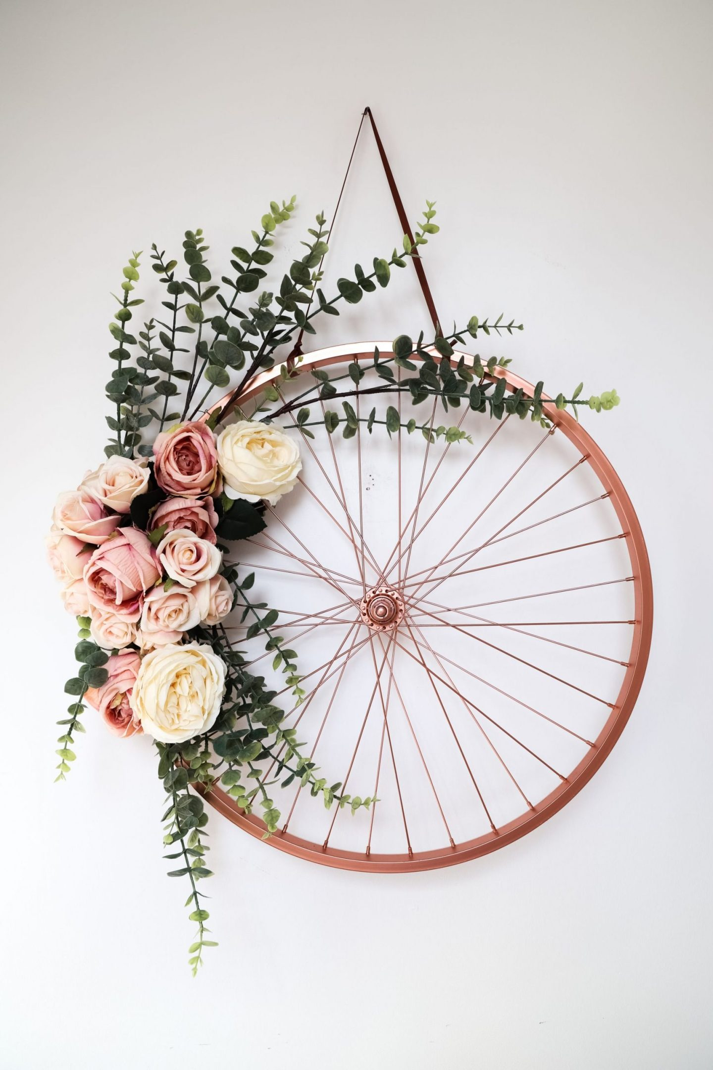 Repurpose and recycled bike frame