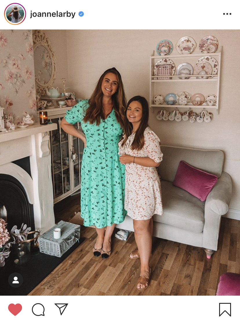 the other side of perfect podcast, catherine carton and joanne larby