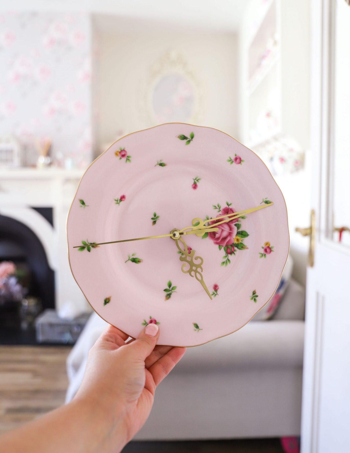 How to drill through ceramic, DIY ceramic clock