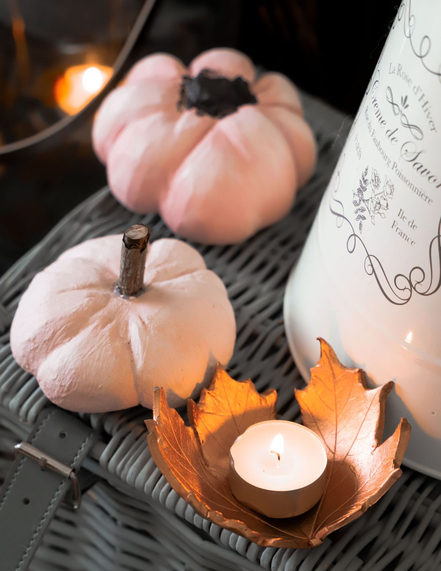 Autumn decor diy pumpkins