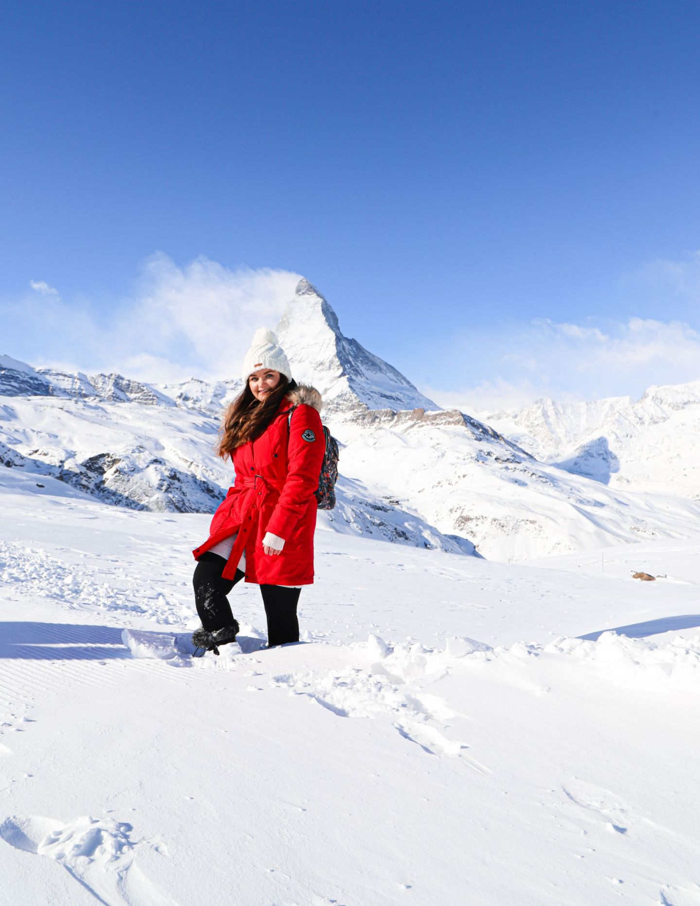A Solo Snowy Switzerland Adventure