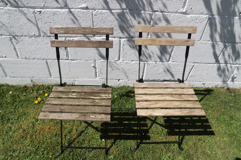 Reviving an old IkeaTÄRNÖbistro set