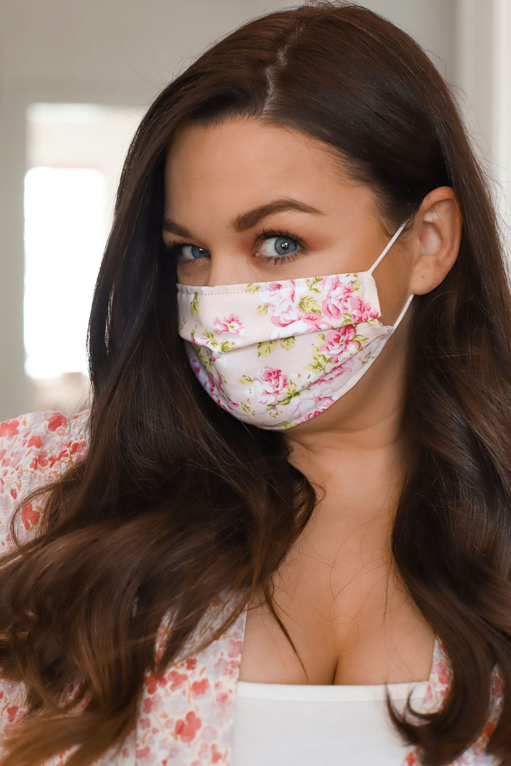 How To Make a Reusable Face Mask, Easy Sew