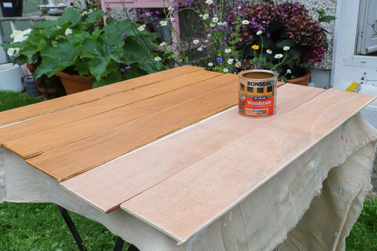 Ronseal wood stain