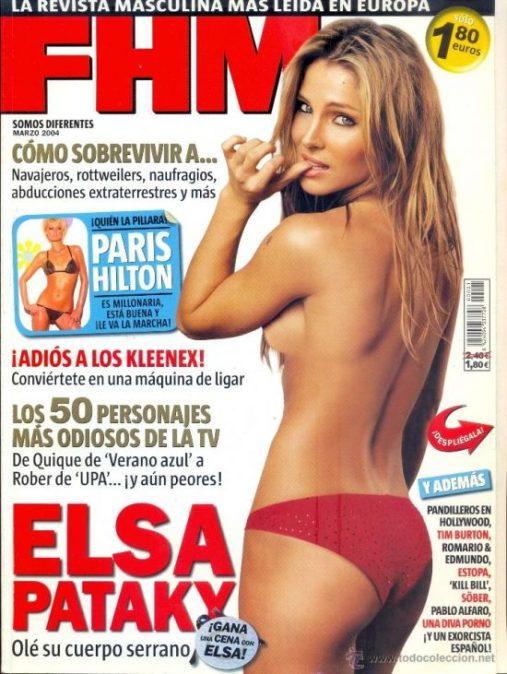 elsa fhm e1511047409881 - Las Cirugías de Elsa Pataky