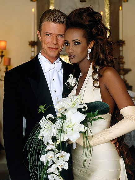 david bowie wedding 435 - El Gran Secreto de Belleza de Iman