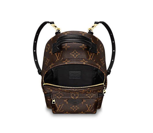 louis vuitton palm springs backpack mini lona monogram bolsos M41562 PM1 Interior view 1 - Estilo Invernal