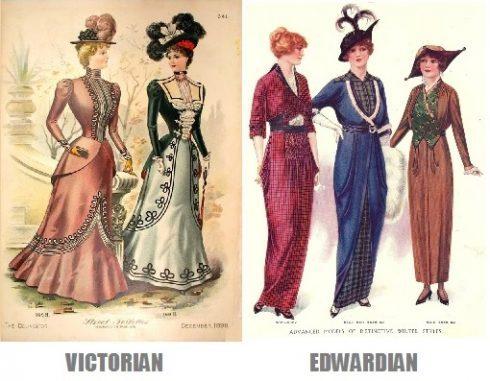 victorian edwardian fashion e1517522058772 - La Belleza en la Época Eduardiana