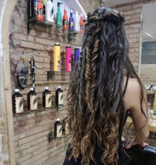 peinado boho daiquiri girl