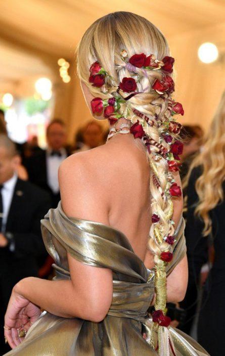 jasmine sanders braid e1525809439720 - La Trenza de Jasmine Sanders para la Gala MET