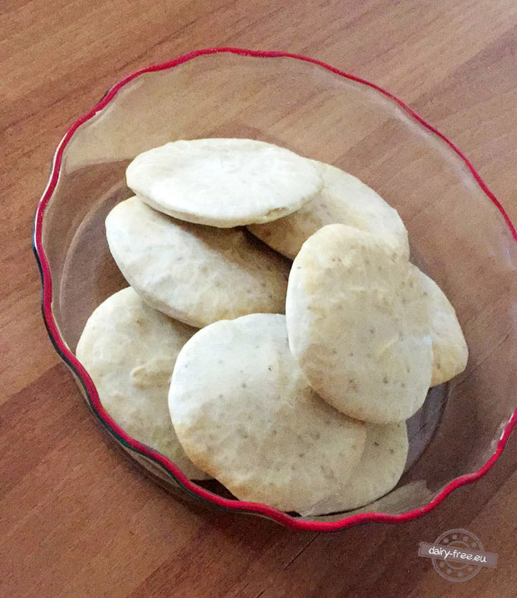 Πιτάκια με αλεύρι πατάτας