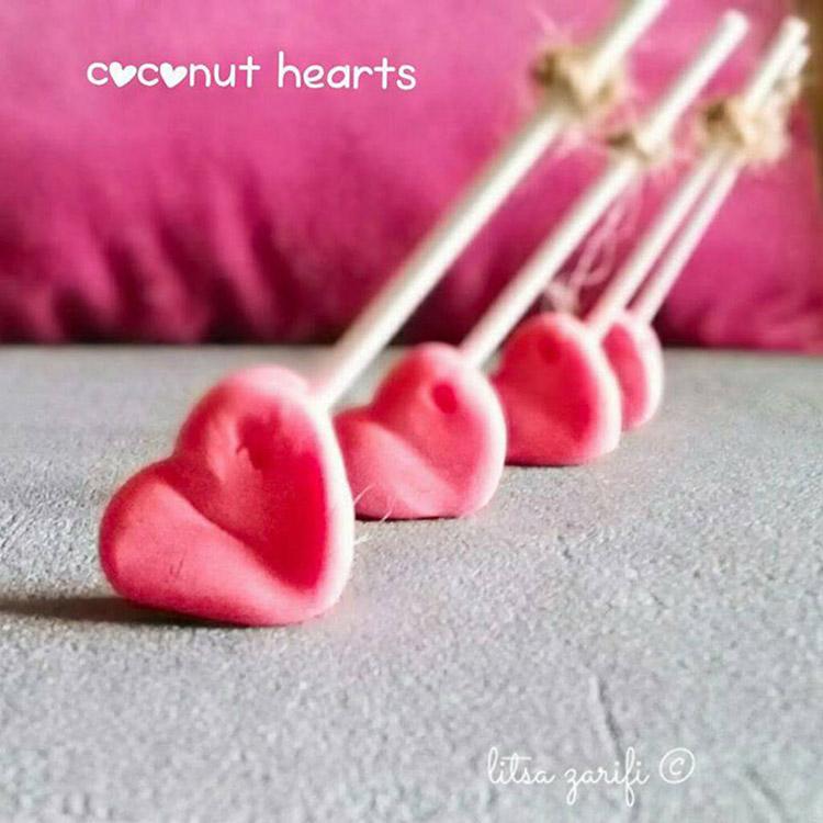 Coconut hearts