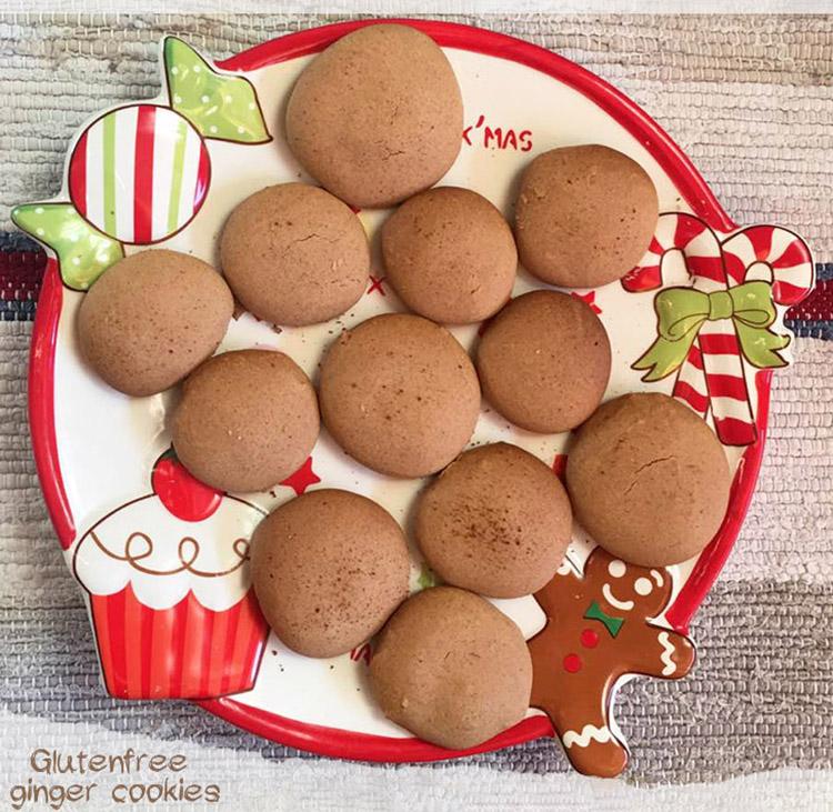 Glutenfree ginger cookies