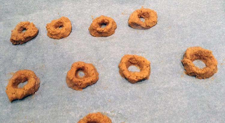Ντόνατς καρύδας