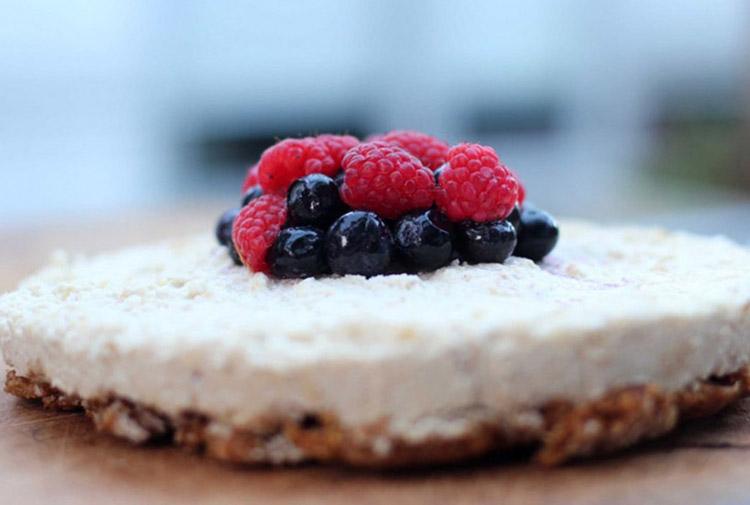 Cheesecake με φρούτα του δάσους