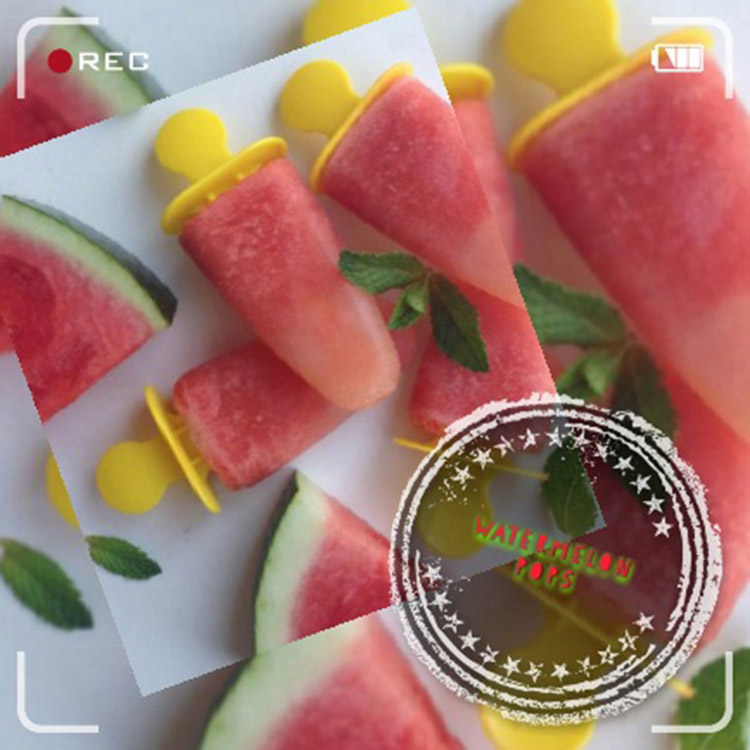 Pops καρπούζι-ανανά