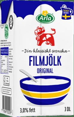 Filmjölk- Lättfil παρασκευή σουηδικών οξεογαλάτων στο σπίτι