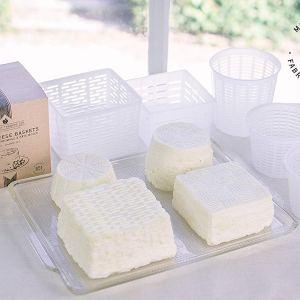 5 Καλούπια τυροκομίας για μαλακά τυριά – βάρος τελικού προϊόντος από 0.3 έως 0.5 kg
