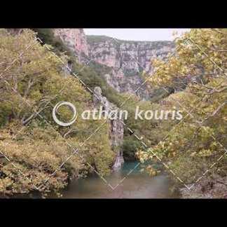αγορά πλάνα βίντεο on line Βοϊδομάτης από γέφυρα Κλειδωνιάς διάρκειας 17 sec V-1050