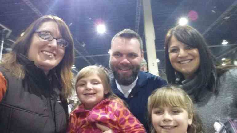 I even got to see some friends that used to live in Wisconsin while I was in PA. They loved their first trip to the Pennsylvania Farm Show.