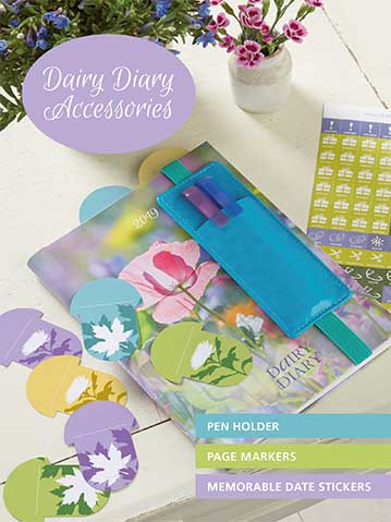 Dairy Diary Accessories Pack