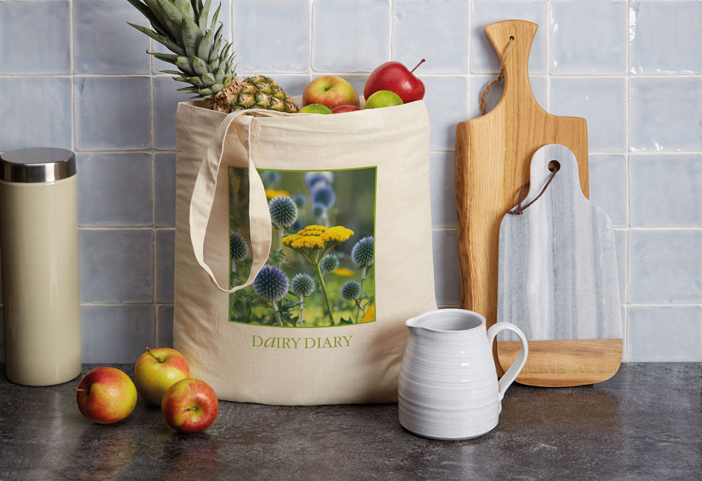 Dairy Diary Shopping Bag