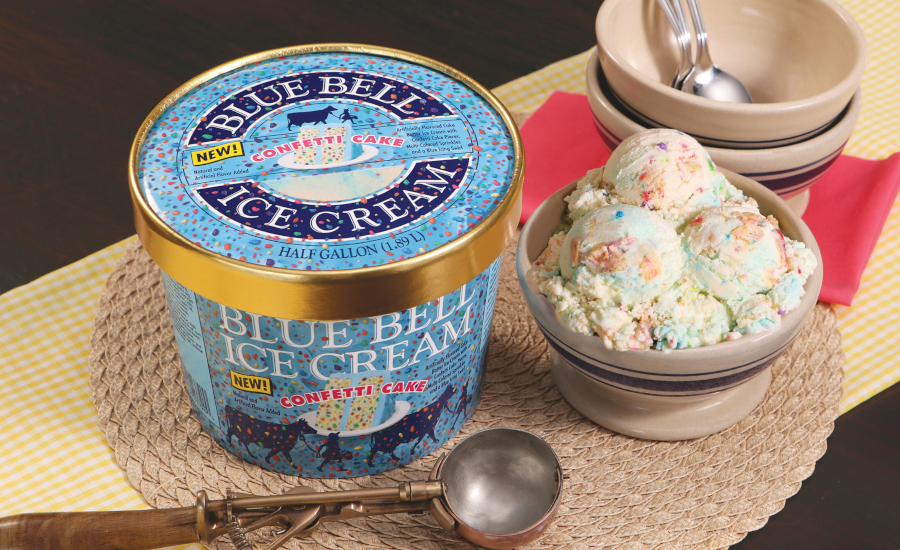 Blue Bell Introduces Confetti Cake Ice Cream Flavor 2020 05 06 Dairy Foods
