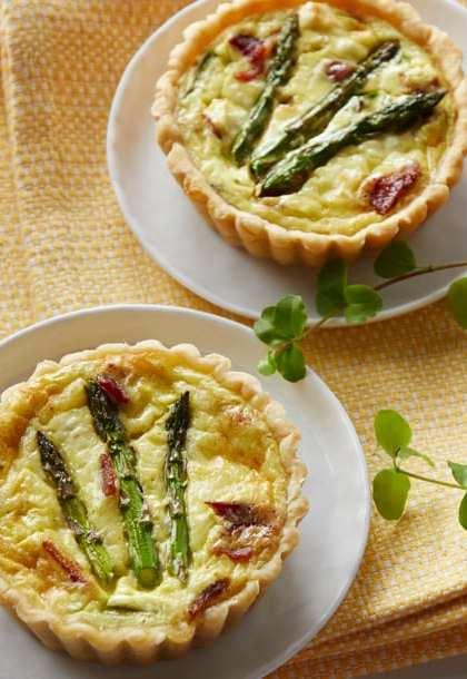 Spring Asparagus Quiche Recipe