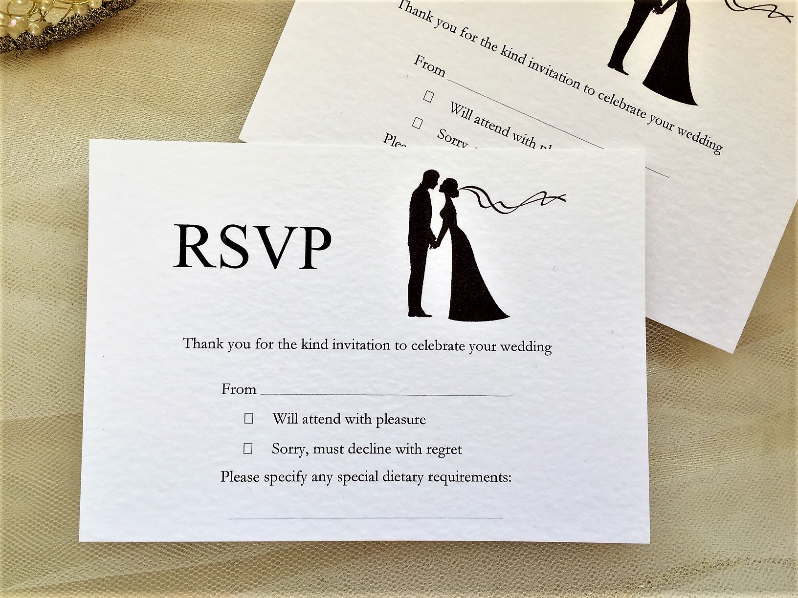 Finally RSVP Postcards 45p Each Affordable Modern Wedding Stationery
