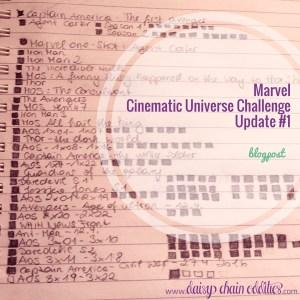 Marvel Cinematic Universe Challenge Update #1