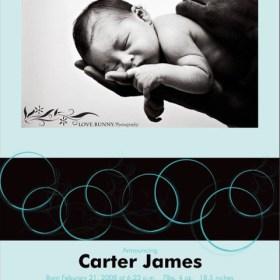 Birth Announcement - Circles 2