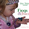 Frogs and Faeries Birthday Party invite