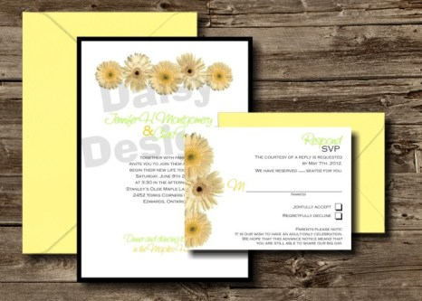 Mellow Yellow Invite Package
