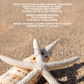 Sandy Starfish Invite
