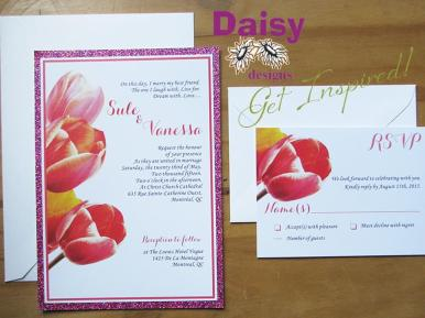 Coral Tulips Package